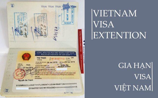 gia hạn visa cho người Hàn
