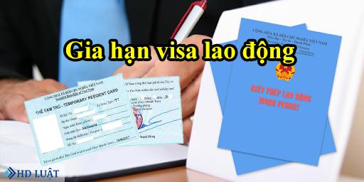 hồ sơ gia hạn visa lao động