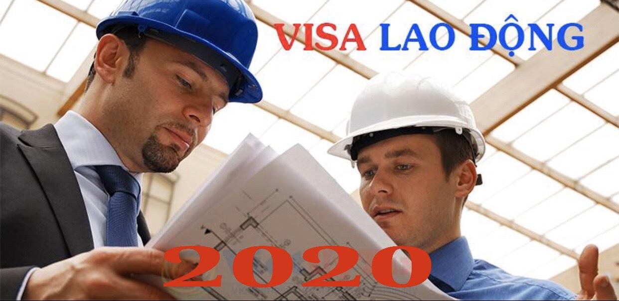 visa lao động việt nam 2020