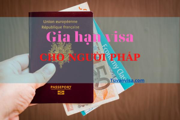Gia hạn visa cho người Pháp